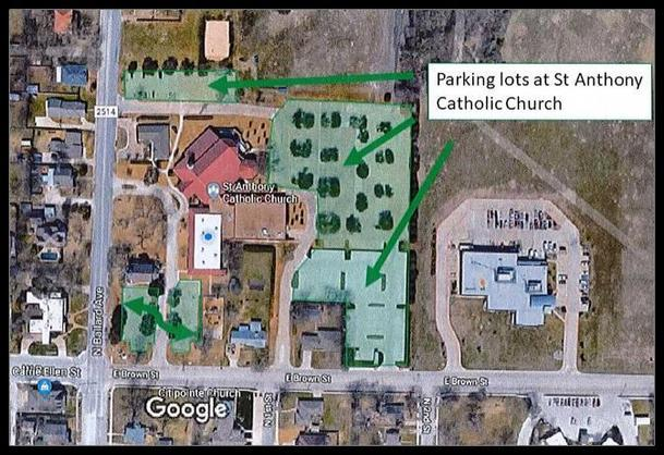 Parking at SACC Image 2019